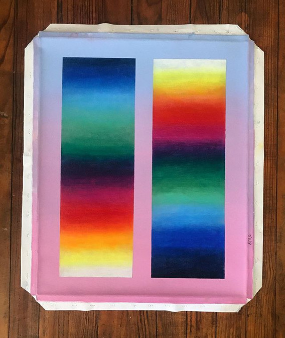 canvas, 50x60 cm., HOY. Être__El saber