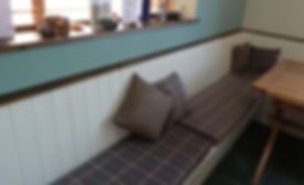 Bench seat cover & double sided cushionss