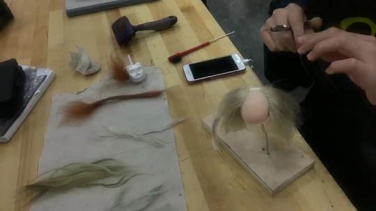 Syd Hair Punching