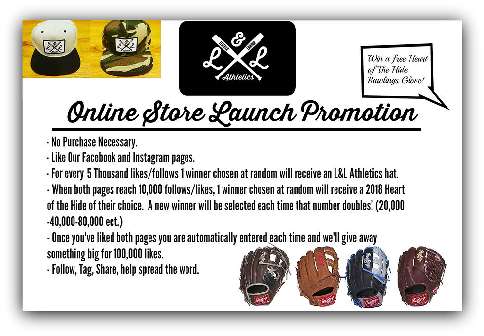 Online Store Launch Promotion