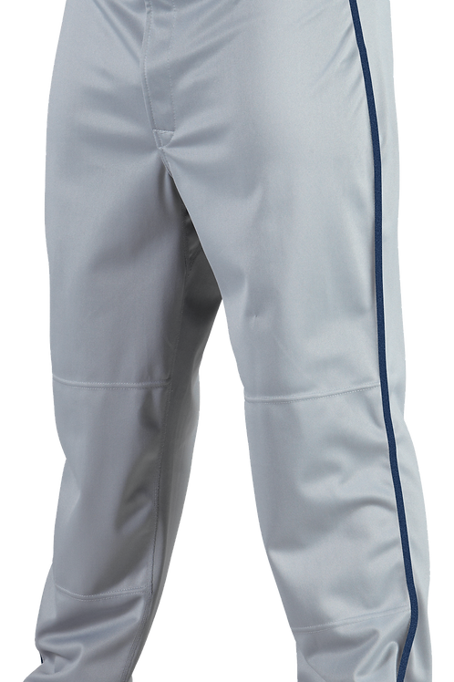 Rawlings Gray Pant Blue Piping