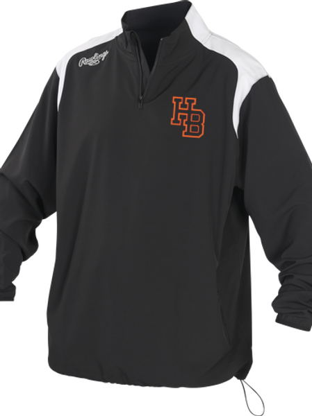 HB Rays Rawlings Force Jacket (Lightweight)