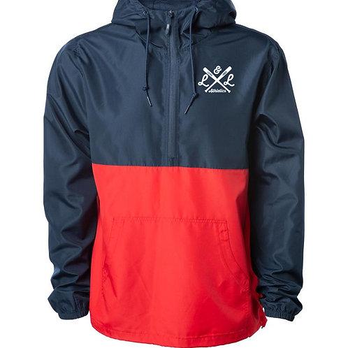 LLA Anorak Jacket Red Navy