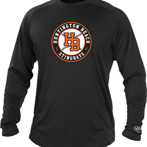 HB Rays Practice Performance Long Sleeve