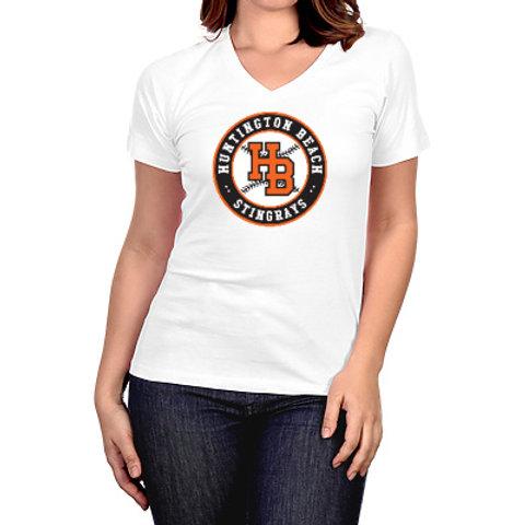 HB Stingrays Women's V-Neck Shirt