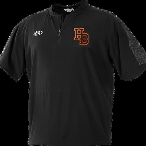 HB Rays Rawlings Cage Jacket (Short Sleeve)