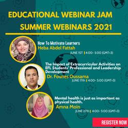 Summer Webinars