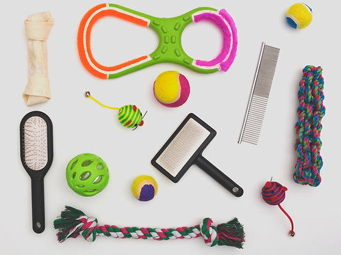 Pet Toys & Grooming Products