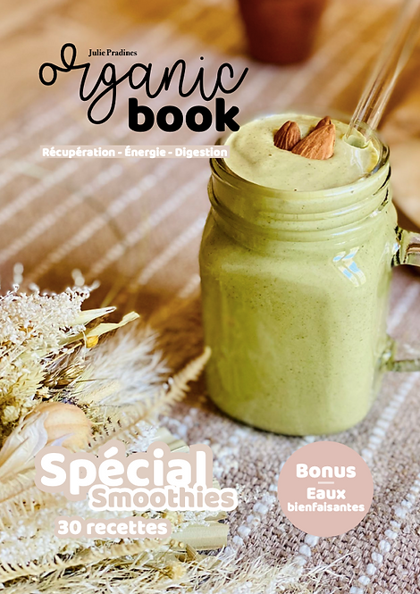 Organic Book - Mes smoothies