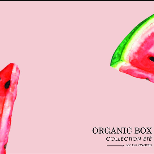 """My Organic Box Eté"" par Julie Pradines"