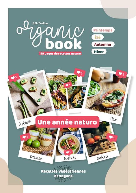 Organic Book - Une année naturo