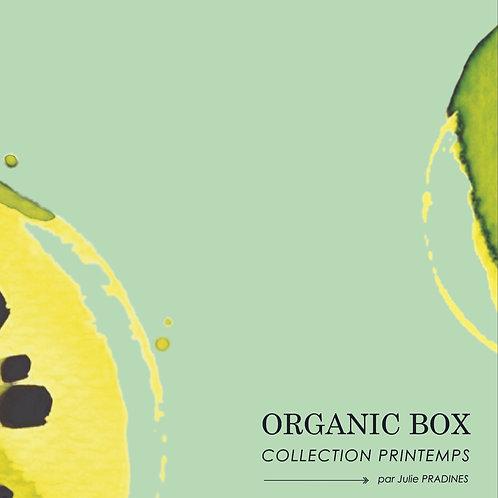 """My Organic Box Printemps"" par Julie Pradines"