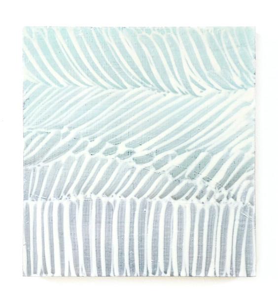 August, oil on plywood, 21.5cm x 20 cm, 2020