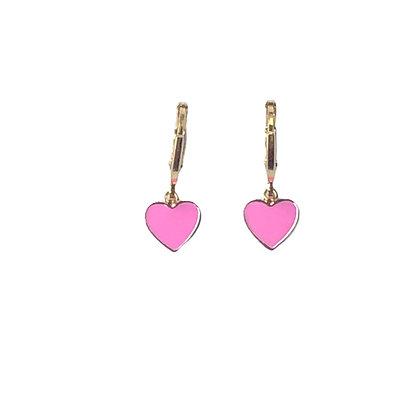 Mini corazones rosas