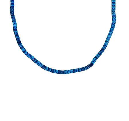 Cadena Hematita Azul