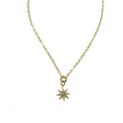 Estrella de zirconias