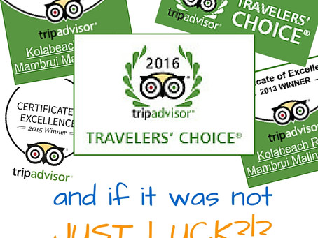 Tripadvisor Travelers' Choice | Thanks for making it happen