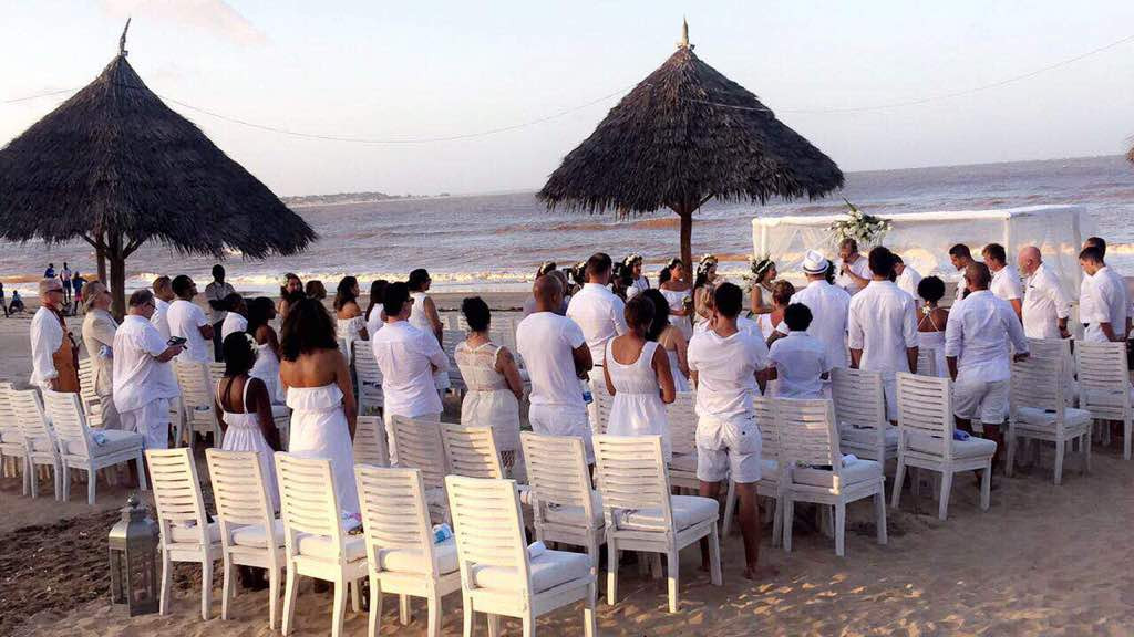 kola beach wedding mambrui