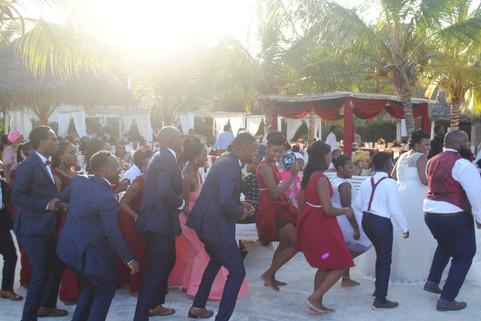 wedding party kola beach mambrui