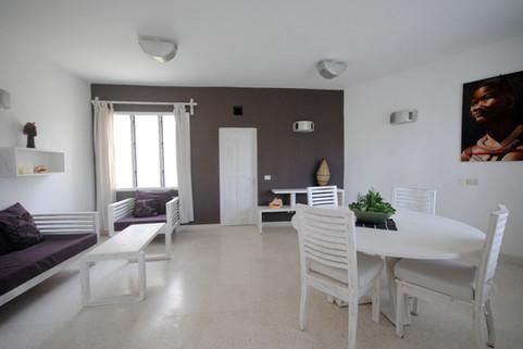 Living room villa kola beach mambrui