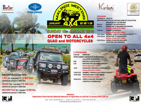 Malindi Meeting 4x4 - 1st Edition