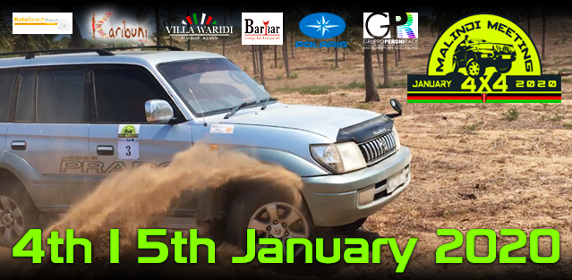 See you on 4th and 5th January 2020 for the Malindi Meeting 4x4 II Edition