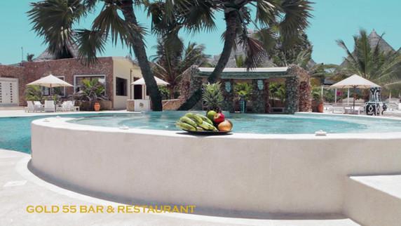 Gold 55 Bar & Restaurant - Kola Beach Resort - Mambrui
