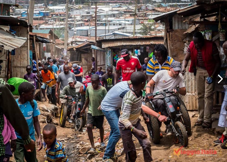 viaggio italia a kibera