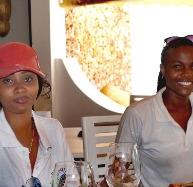 Partecipants to the Malindi Meeting 4x4 enjoying their lunch at Kola Beach Resort