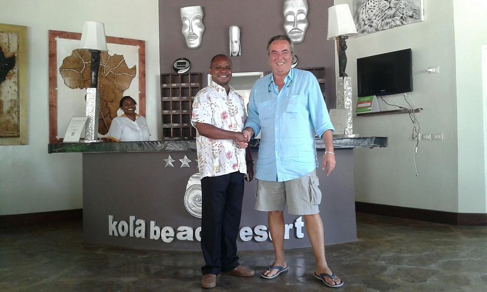 amason kingi at kola beach resort