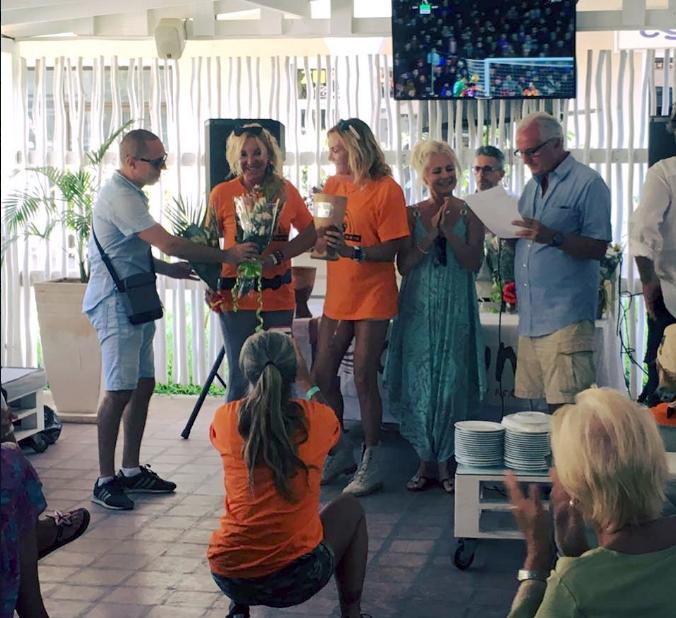 The crew Panni-Gandellini wins the Female category of the Malindi Meeting 4x4 2019