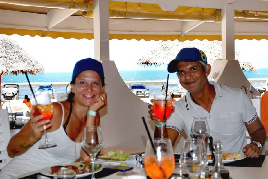 Lunch break at Kola Beach Resort