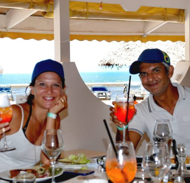 The winners of cars category enjoying an aperitif at Kola Beach Resort