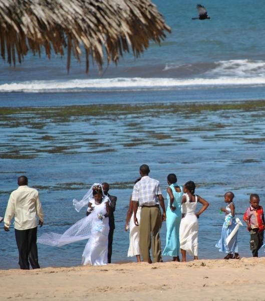 wedding on the beach kenya coast