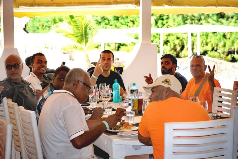 The lunch at Kola Beach Resort Mambrui
