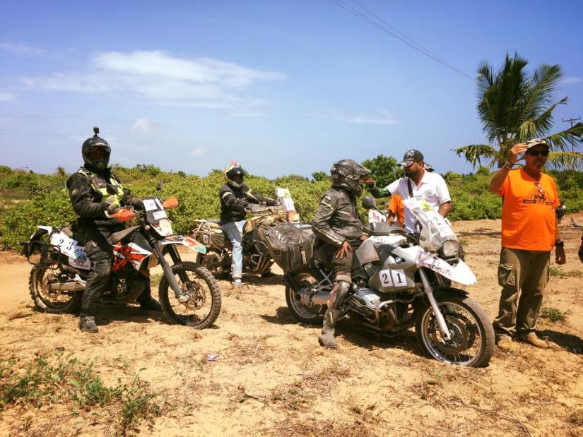 Malindi Meeting 4x4 Motorcycles serie