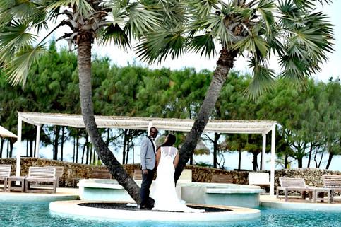 beach wedding in mambrui kenya