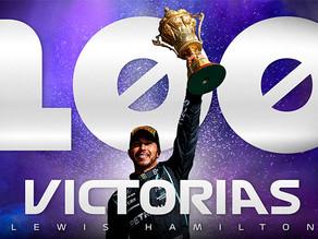 VICTORIA 100 PARA HAMILTON…HISTORICO
