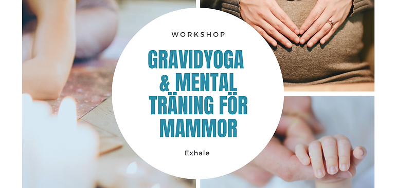 Kurs - 8 veckor Gravidyoga & Mental Träning för blivande mammor