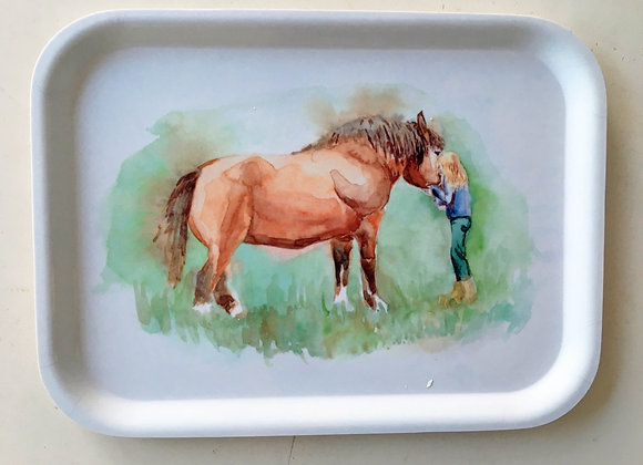 Choose your favorite artwork on your breakfast tray!