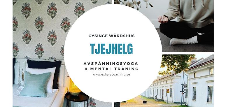 Tjejer - Exhale på Gysinge Värdshus!