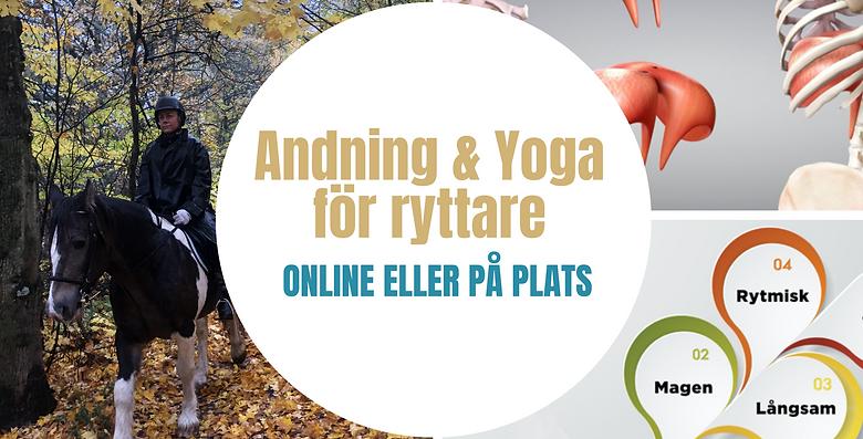 Andning & Yoga för Ryttare