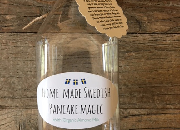 32 oz, Organic Almond Milk Pancake Magic (makes ca 14 pancakes)