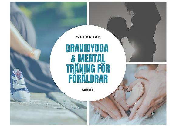 Gravidyoga & Mental Träning för föräldrar (2 platser)
