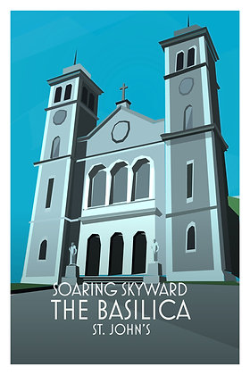 Soaring Skyward - The Basilica - St. John's