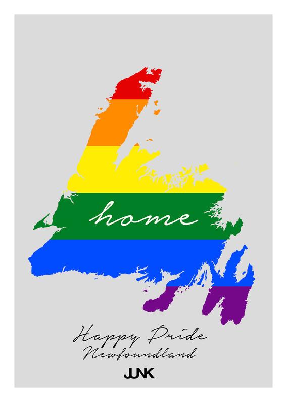 Happy Pride - Home NL - Postcard
