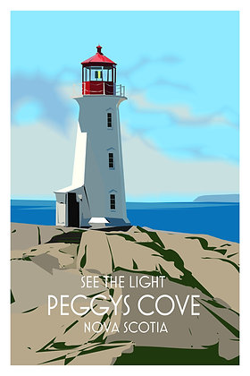 See The Light - Peggy's Cove - Nova Scotia