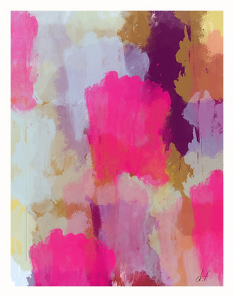 Pink - Abstract 1