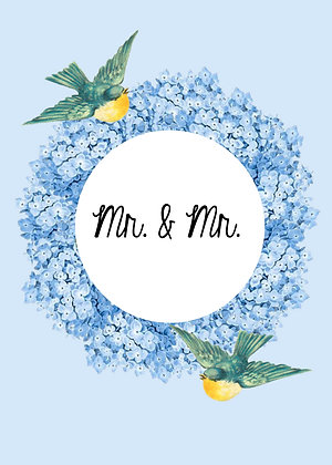 Mr. & Mr. - Lovebirds