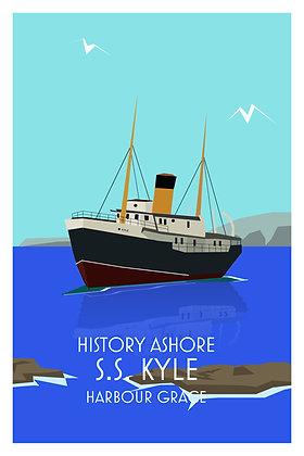 History Ashore - S.S. Kyle - Harbour Grace